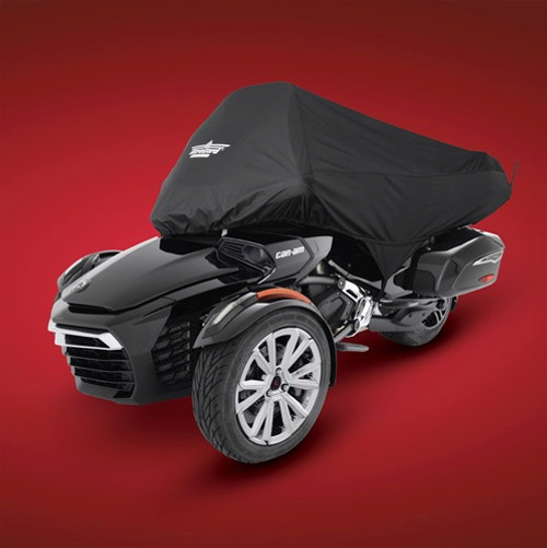UltraGard® Can Am Spyder F3-T and LTD Half Cover (SC-4-478BK) Lamonster Approved