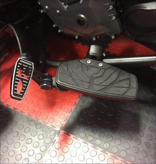 Can-Am Spyder F3 Highway Bracket - LG-1083-1075 by Lamonster Fits ALL F3 Models with OEM Boards.