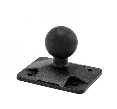 4-Hole AMPS to 25mm Rubber Ball Adapter
