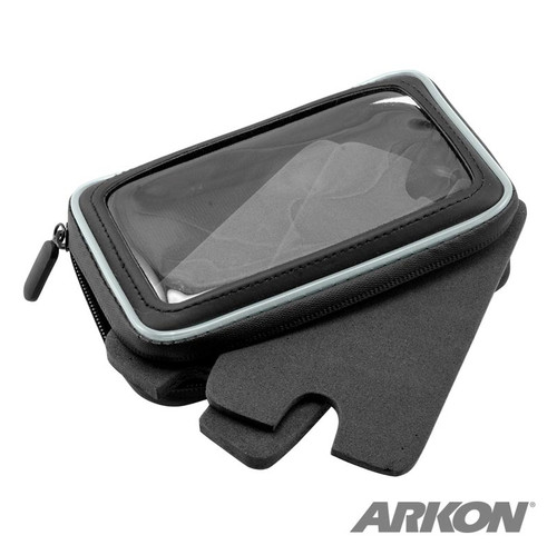 Motorcycle Phone Mount with Water-Resistant Holder for iPhone 6S, 6 Plus, Note 5, 4