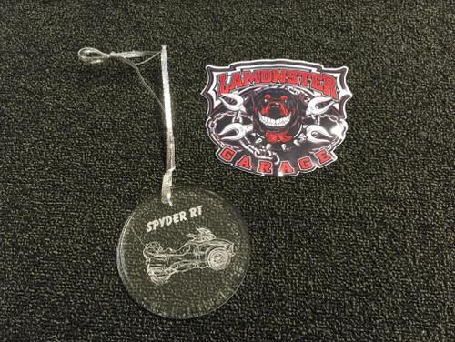 Spyder RT Ornament  (X)
