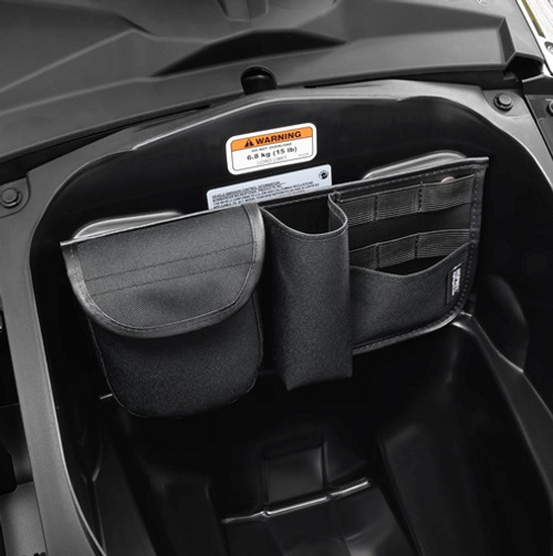 Hopnel™ Can Am Spyder F3 Front Trunk Organizer (SC-H40-306BK) Lamonster Approved