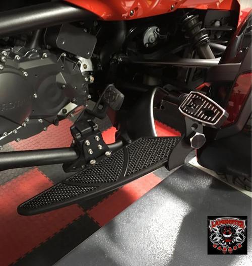 F3 Black Dymond Gripper Highway Brackets - Pegs (LG-1096-1075)