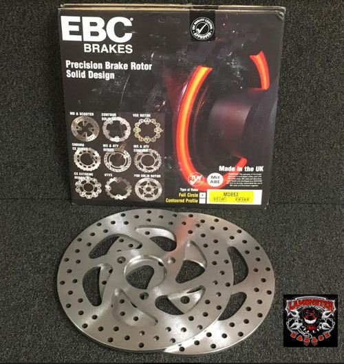 EBC Brake Rotors (front pair) (LGA-MD853) Lamonster Approved