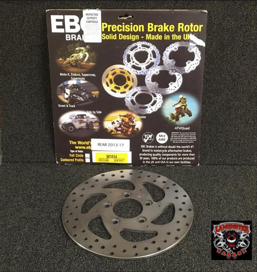 EBC Brake Rotors (Rear) (LGA-MD854) Lamonster Approved