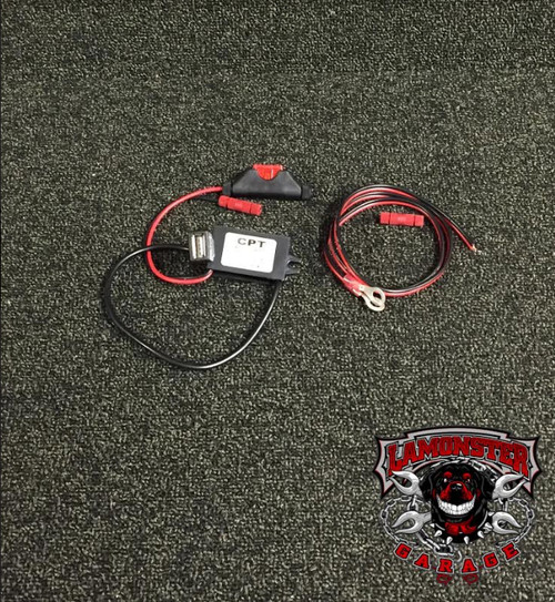 Lamonster USB Power Supply (LG-3092) This item is very universal, it will fit to any 12V source and give you a USB source.