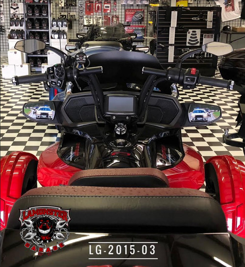 F3-T / F3-LTD Mirror Inserts. Shown here on the the Shop Dawg (LG-2015-03)