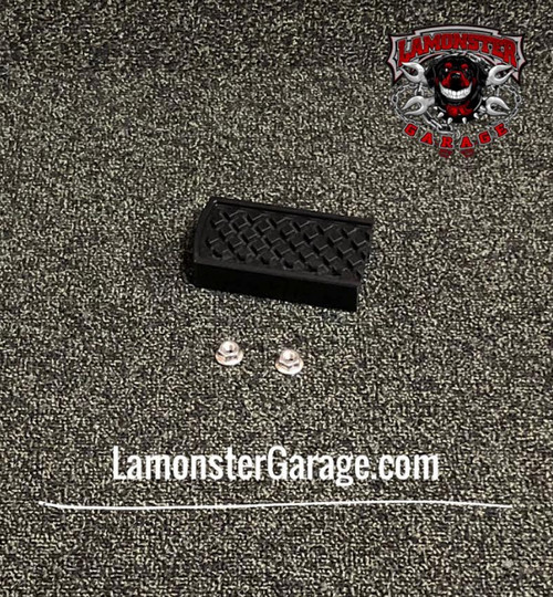 Lamonster Black Dymond Brake Pedal (LG-1009B) (BLACK) Fits all Can-Am Spyder F3, RT, ST Models