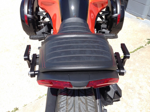 Can Am Spyder F3 IPS Billet Grab Rail Kit (LG-1021-1022) by Lamonster Fits: F3/F3-S/F3-T/F3-LTD 2015 - Present