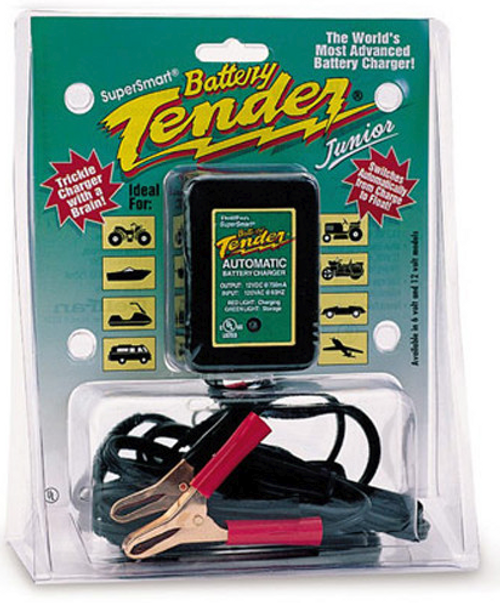 Battery Tender® Junior 12V 750mA Battery Charger (LGA-0123) Lamonster Approved