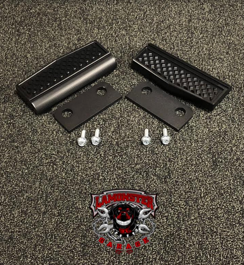 F3 Black Dymond Peg Insert (LG-1044) Works with all F3 models with OEM pegs (rider & passenger) by Lamonster