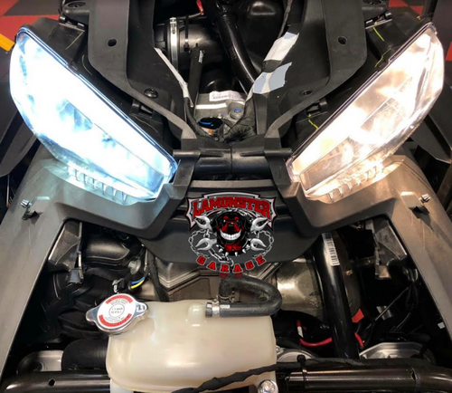 H4 LED Headlight for the Can-Am Ryker (LG-H4-1) Fits all Can-Am Ryker Models #lamonster #canamonroad #ryker #canam #led #h4