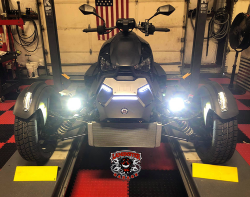 H4 LED Headlight for the Can-Am Ryker (LG-H4-R)