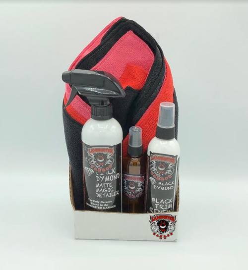 Lamonster Black Dymond Matte Magic Detailer Gift Pack (Non Aerosol) (LG-5008)