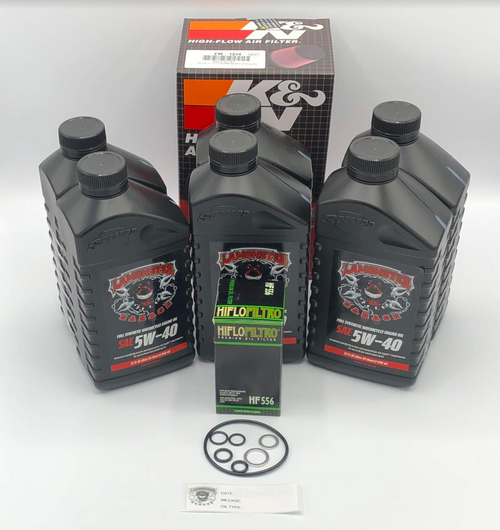 Lamonster 1330 Oil Change Kit with K&N Air Filter (LG-6001-1314) Compatible: CAN AM SPYDER, F3,F3-S,F3-T,F3-LTD 2015-2020. RT,RT-S,RT-LTD 2014-2020.