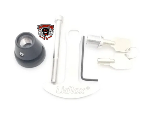 Lidlox Helmet Lock, Can Am Ryker, Black Single (LL-6170)