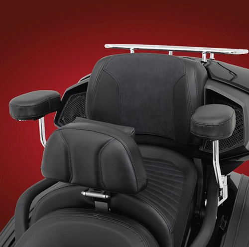Show Chrome® Armrest kit Can Am Spyder F3 (SC-41-309) Lamonster Approved