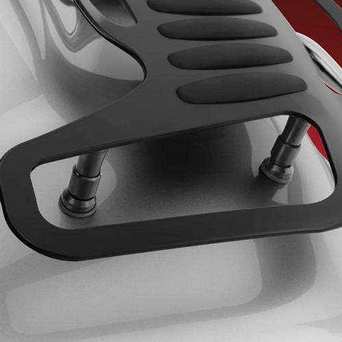 Show Chrome® Tour Rack Black Risers, RT (SC-52-837BK) Lamonster Approved (Rack Sold Separately)
