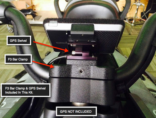 GPS Swivel & F3 Bar Clamp Included In This Kit.