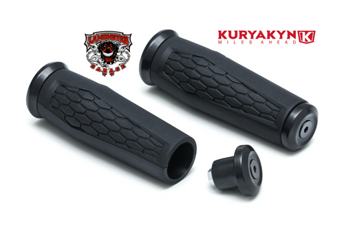 "Hex Grips for 7/8"" Handlebars (KYN-5929) by Kuryakyn"