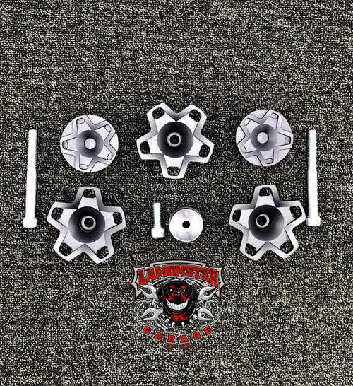 Lamonster Nutz Ryker Wheel Caps 3pc Set (LG-1066)