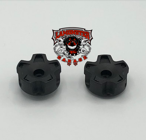 Can Am Spyder Star Bar End Caps (LG-1015) by Lamonster