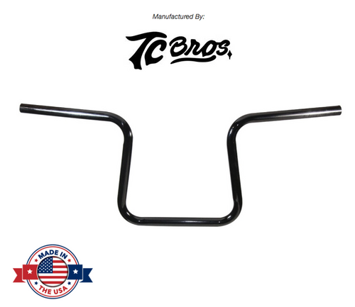 "Lane Splitter™ 7/8"" Handlebars - 9.25"" Rise Black Powder-coated (TC-101-0001)"