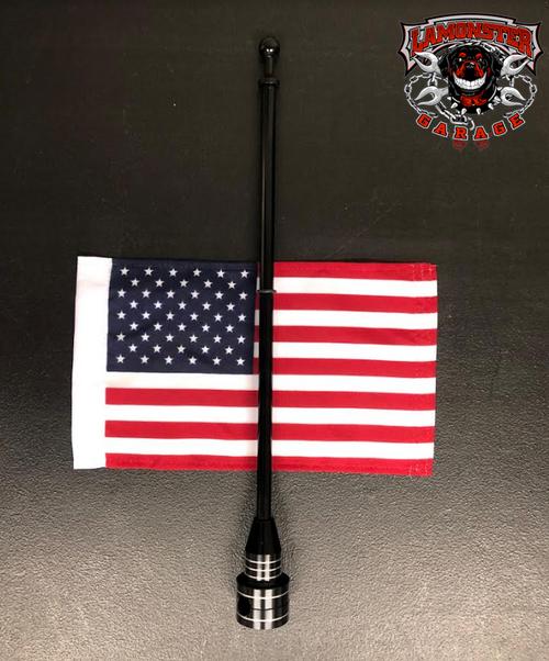 Flag Holder, Rack Mount, with USA Flag (LGA-2240)