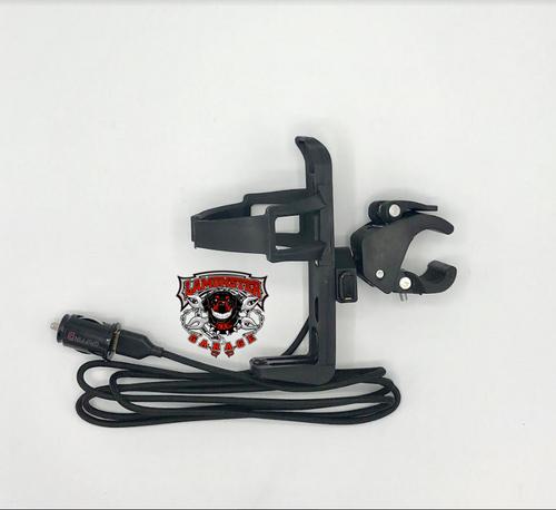 Passenger Drink Holder with USB Plug (LG-3091-2001) by Lamonster