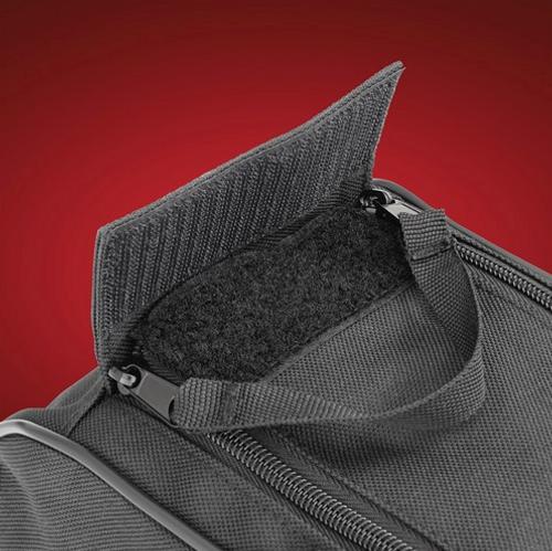SADDLEBAG LINER FOR THE F3-T / F3-LTD (HOP-HCL) Saddlebag Liner Zipper Detail