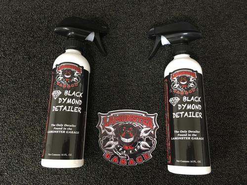 Lamonster Black Dymond Detailer (Non Aerosol) (2 bottle price)