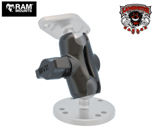 "RAM® Double Socket Arm (2"") (RAM-201UA) Lamonster Approved"