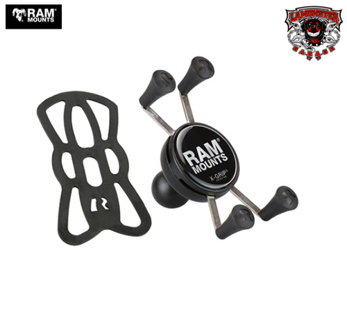 "RAM® X-Grip® Universal Phone Holder with 1"" Ball (RAM-UN7B) Lamonster Approved"