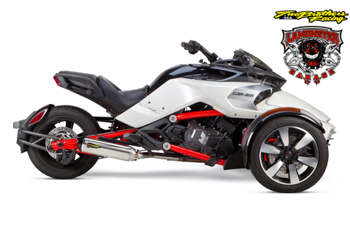 Can-Am Spyder F3/S S1R Slip-On System (2015-2020) (TB-005-4230409-S1) Lamonster Approved
