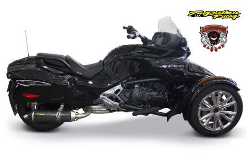 Can-Am Spyder F3-T / F3-LTD (2015-2020) S1R Black Series Aluminum Slip-On (TB-005-4660406-S1B ) Lamonster Approved