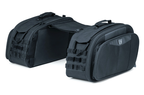 Momentum Outrider Throw-over Saddlebags (KYN-5209) Lamonster Approved
