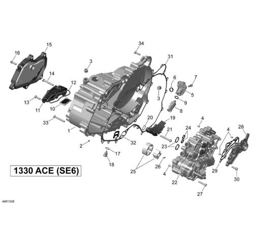 1330 Transmission Filter OEM (BRP-420211156)