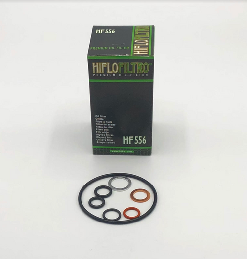 HiFlo Oil Filter Kit for the Can-Am Spyder RT/F3 Models 2014 - 2020 SE6 / SM6 (HF-556-01)