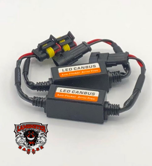Lamonster Anti-RF Filters for the F3 Fog Lights (LG-3000)(LG-3001)(LG-3011) (LG-3016)