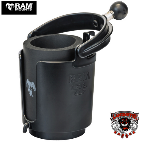 "RAM® Level Cup™ Drink Holder with 1"" Ball (RAM-132BU)"