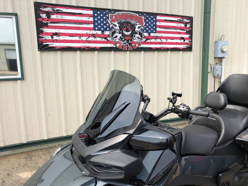 "Can Am Spyder RT, RT-S and RT-LTD Freedom windshield 20"" Medium Tint (2010 - 2021)"