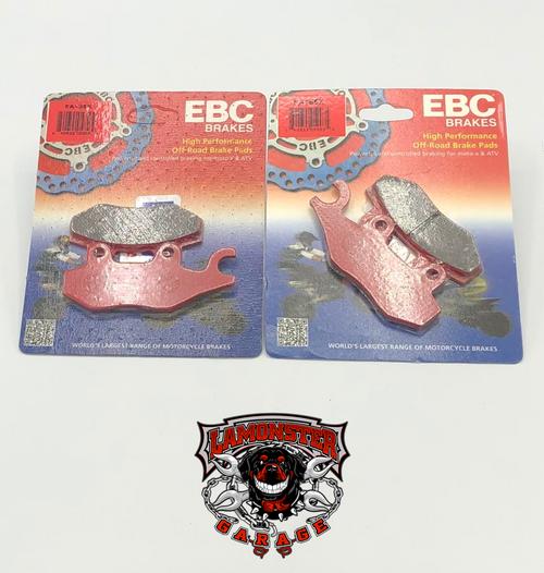 High Performance EBC Front Brake Pads (All Can AM Ryker's ) (LGA-FA165X)