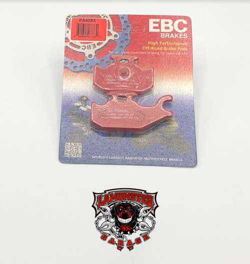 High Performance EBC Rear Brake Pads (All Can Am Ryker's) (LGA-FA428X)