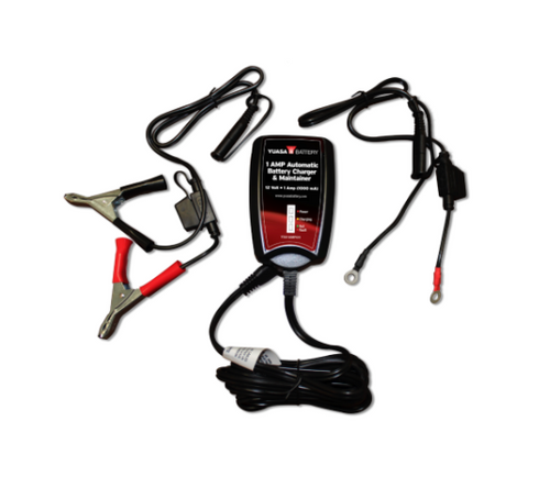 1 AMP AUTOMATIC BATTERY CHARGER & MAINTAINER (LGA-YUA1AMPCH)