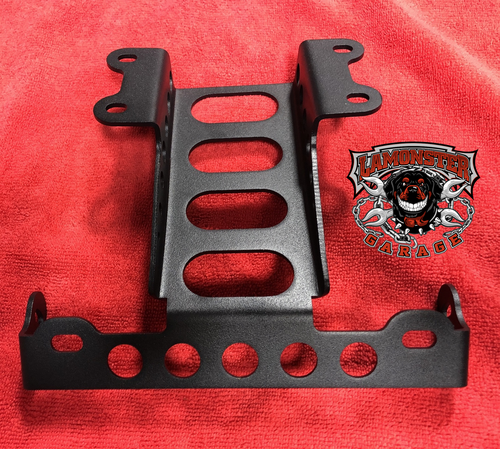 Rocket 3 license plate bracket for use with OEM Lights (2020)