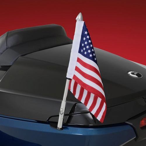 Folding Flag Pole On Can-Am Spyder RT (2020-)