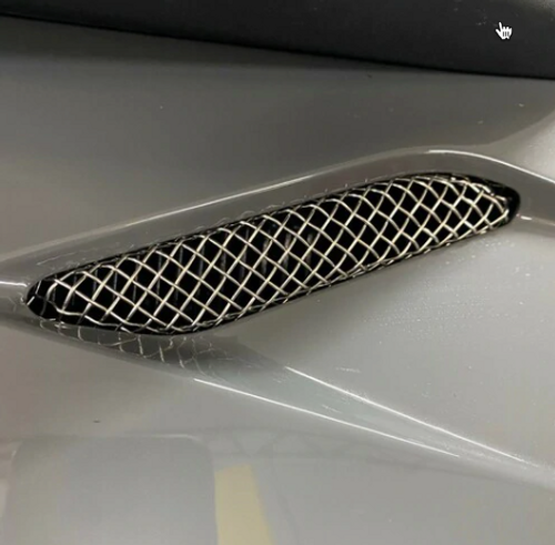 CAN AM SPYDER RT 2020-UP,  UPPER STAINLESS STEEL VENT GRILLES (SPY-431)