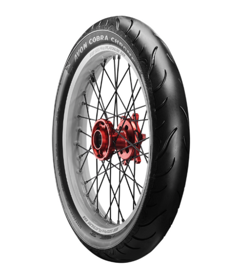 Avon Cobra Chrome Tire — Front (Triumph Rocket 3 2020) (LGA-0301-0763)