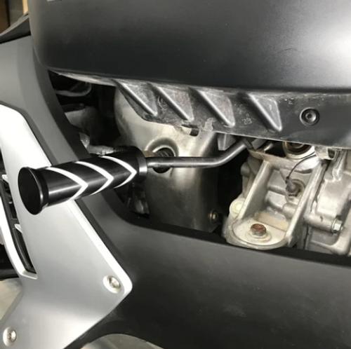 Can Am Ryker Billet Shift Handle (ST-9042) - Silber Turbos