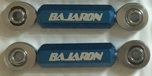 BajaRon Sway Bar End Links / Heim Joint - All Can-Am Spyders (LGA-4061-BLUE)